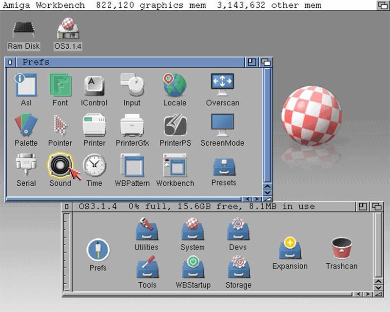 Hyperion propose la nouvelle version tant attendue d'Amiga OS 3.1.4 pour vos Classic